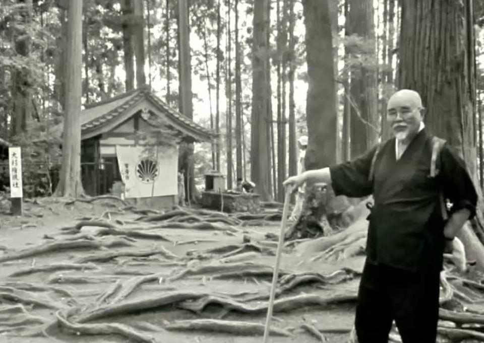 Hyakuten Inamoto en el Monte Kurama